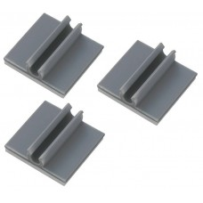 Oil line clips self adhesive 3 pieces